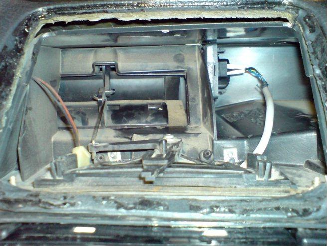 ремонт отопителя автомобиля ланос