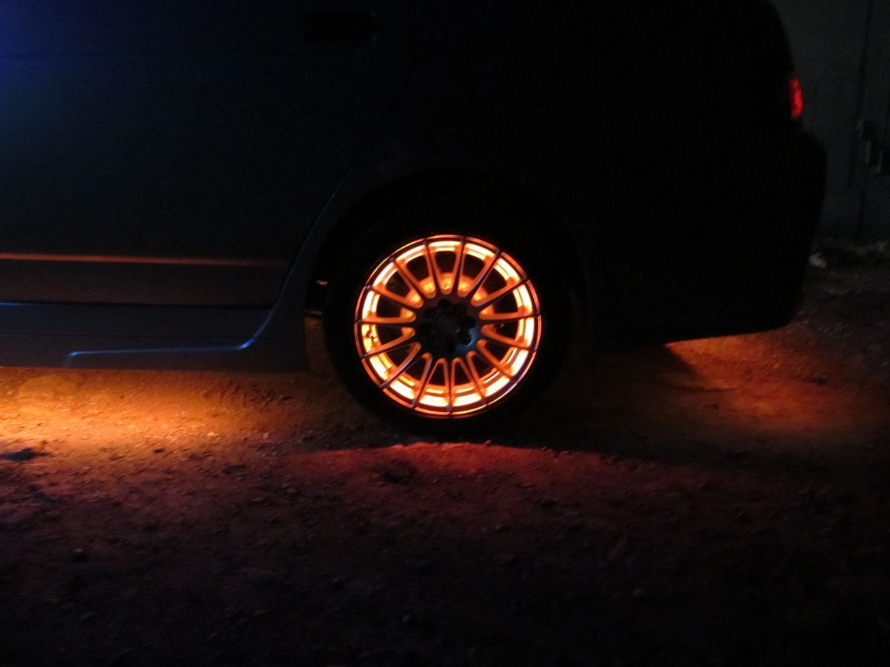 Покраска дисков на машине г.Выборг